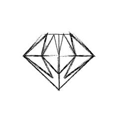 Gemstone diamond jewel vector