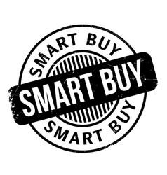 Smart buy rubber stamp vector