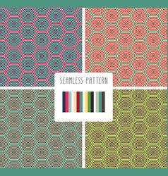 Fashion print geometric poligonal pattern vector