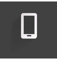 Phone web iconflat design vector