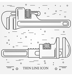 Wrench icons wrench icons wrench icons drawing wr vector