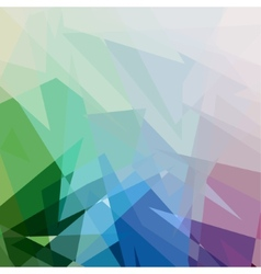 Color Triangle Abstract Background vector image