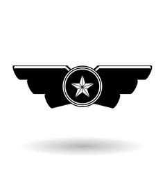 Military icon design vector