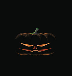 Dark pumpkin preview vector