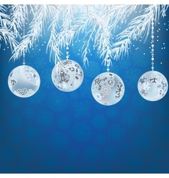 Elegant christmas background EPS8 vector image