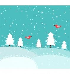 Xmas snow vector