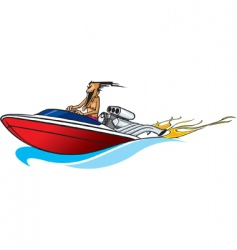 Boat freak vector