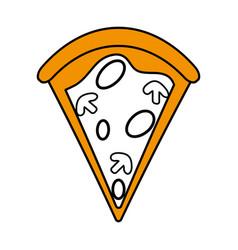 Delicious fast food icon image vector
