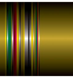 Rainbow metal vector