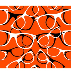 sunglasses seamless pattern vector image vector image