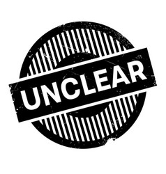 Unclear rubber stamp vector