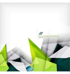 Geometric shapes abstract background vector