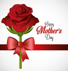 Mothers day card design vector