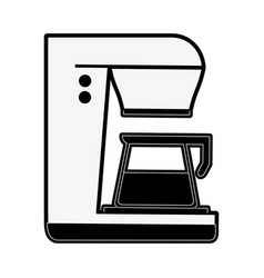 Coffee maker beverage icon imag vector