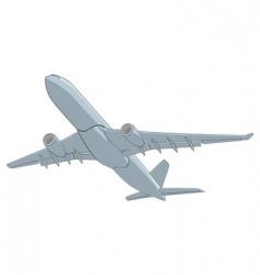 illustration airliner vector image