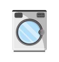 Isolated washer machine design vector