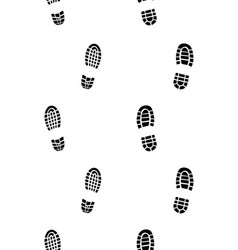 prints of shoes vector image vector image