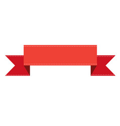 ribbon banners on white background ribbon banners vector image