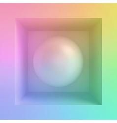 Sphere vector image vector image
