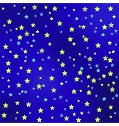 Star sky background vector