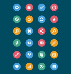 Web and Mobile Icons 2 vector image