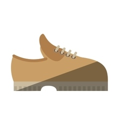 Shoes casual male icon vector