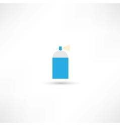 aerosol vector image