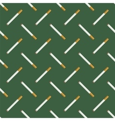 Burning Cigarette Seamless Pattern vector image vector image