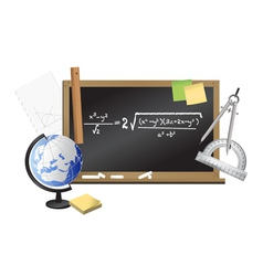 Education Symbols vector image vector image