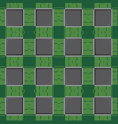 background pattern with computer microchip vector image vector image