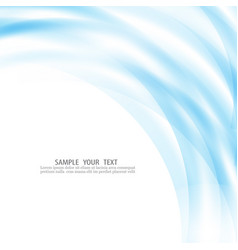 Blue lines on a white background vector