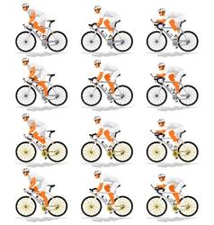 Default cyclist vector