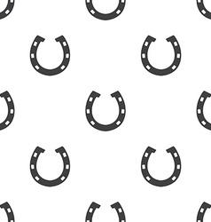 Horseshoe seamless pattern vector image