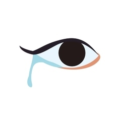 Eye expression cartoon look icon graphic vector