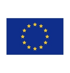 Isolated european union design vector