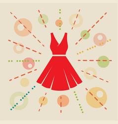 Dress concept vector