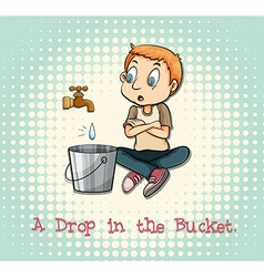 Drop in the bucket vector