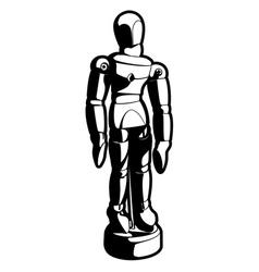 art mannequin three vector image