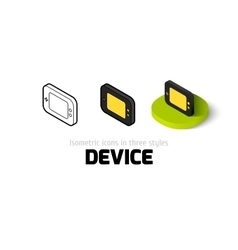 Device icon in different style vector image vector image