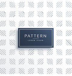 geometric line pattern background design vector image vector image