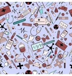 Hospital line art design vector image vector image