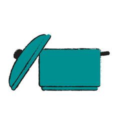 open pot icon image vector image vector image