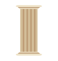 Roman column antique architecture construction vector