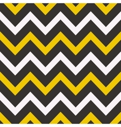 Seamless geometric pattern with Zig zag stripes vector image