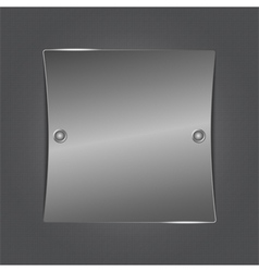 metal board vector image