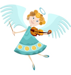 Angel cartoon vector