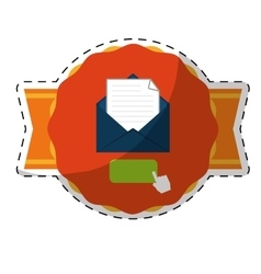 Envelope and mail icon vector