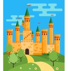 FairyTale castle vector image