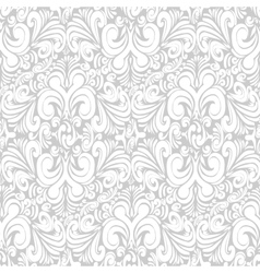 Seamless vintage bright background vector image