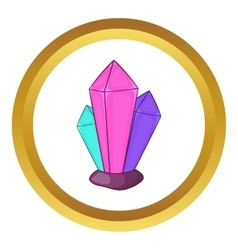 Diamonds icon vector